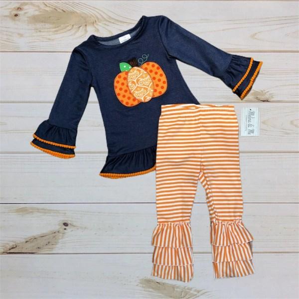 Pretty Little Pumpkin Outfit