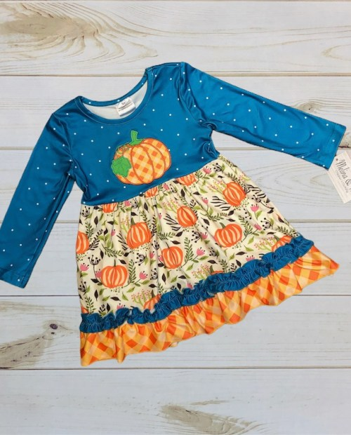 Melina & Me - Pumpkin Patch Dress