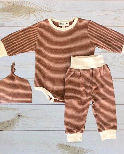 Melina & Me - Adrien 3pc Set (Rust)