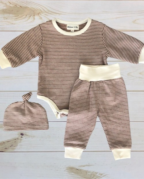 Melina & Me - Adrien 3pc Set (Taupe)