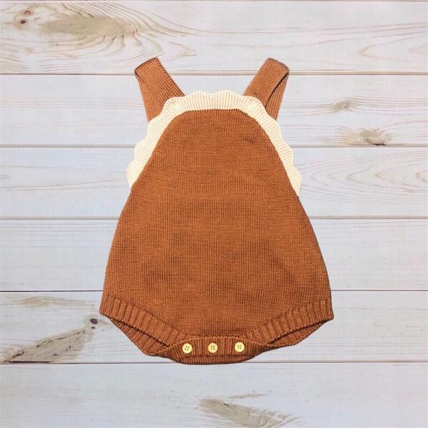 Knit Chestnut Romper