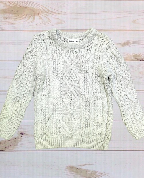Melina & Me - Cozy Knit Sweater (Ivory)