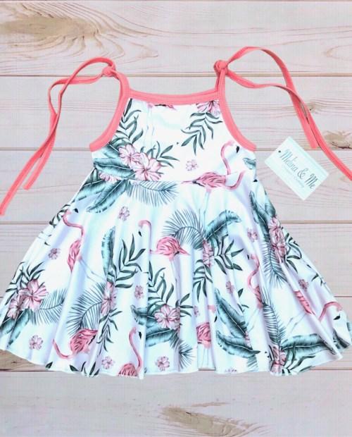 Melina & Me - Flamingo Twirl Dress