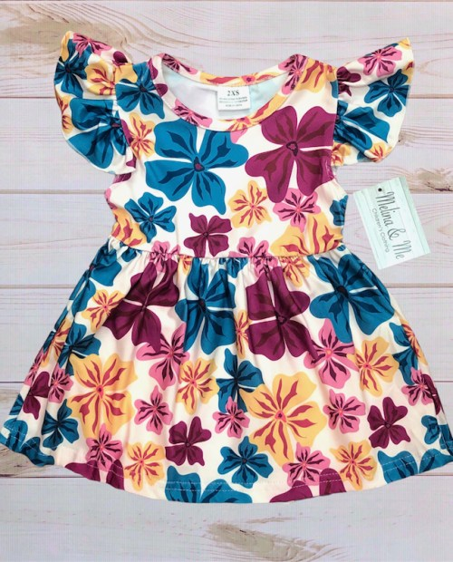 Melina & Me - Pacific Floral Dress