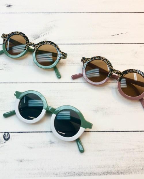 Melina & Me - Two-Tone Sunglasses