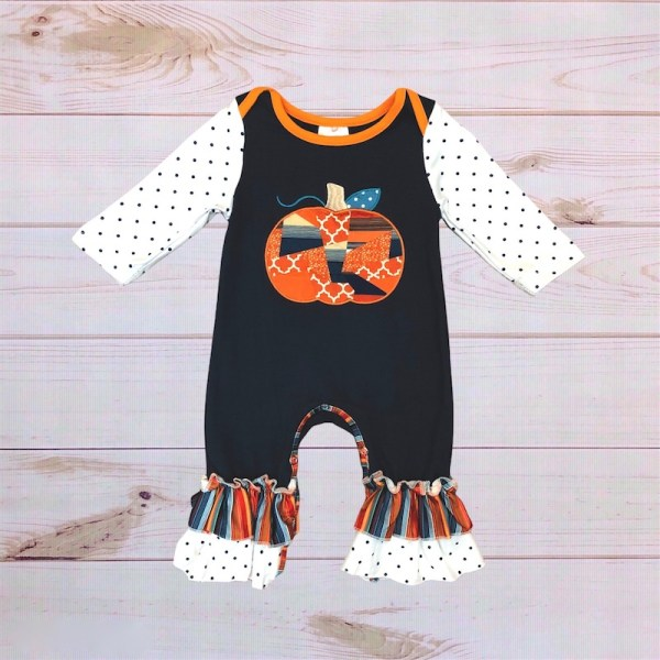 Pretty Little Pumpkin Romper