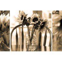Day 314-  Sunflower Triptych