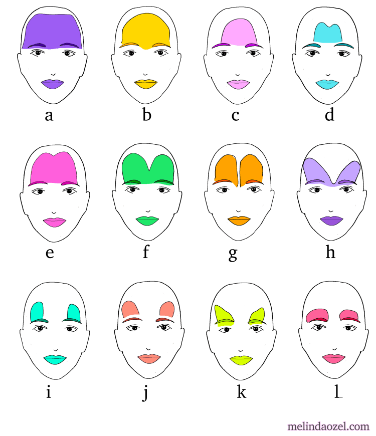 frontalis shapes illustration