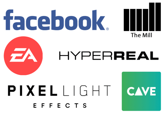 Melinda Ozel - Face the FACS - clients - Electronic Arts - The Mill - HyperReal - Pixel Light Effects - Facebook - Cave Academy