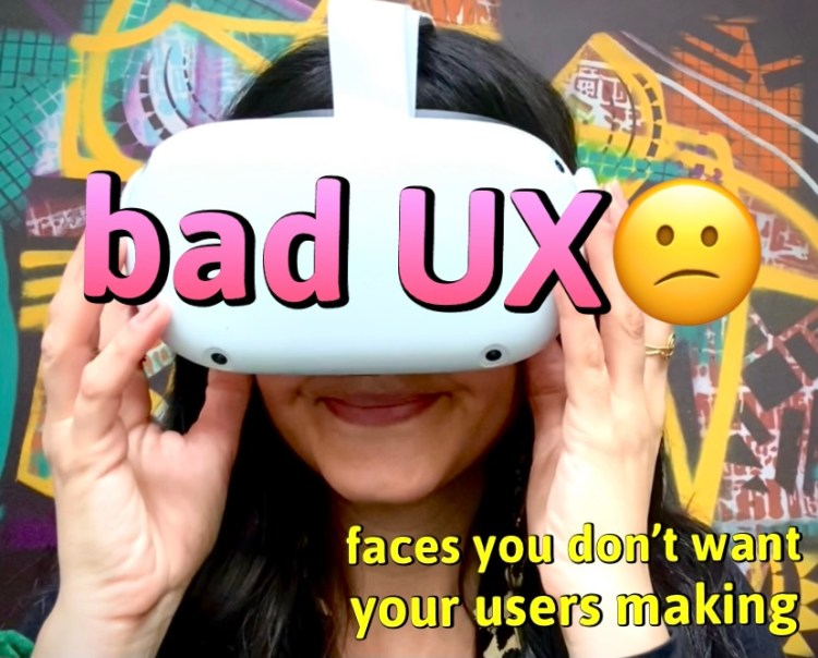 facial expressions you to avoid during UX research sessions