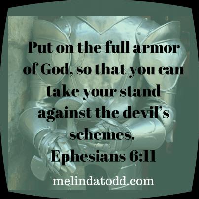 armor of god melindatodd
