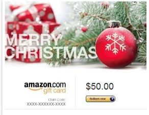 gift card amazon Giveaway