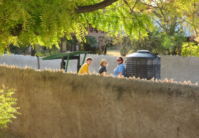 delivering water in haiti