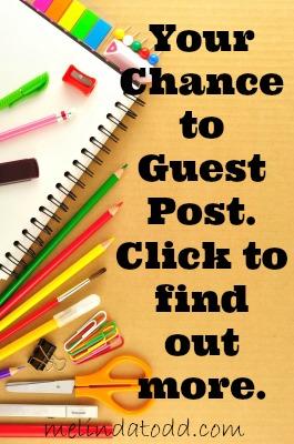 guest post melindatodd