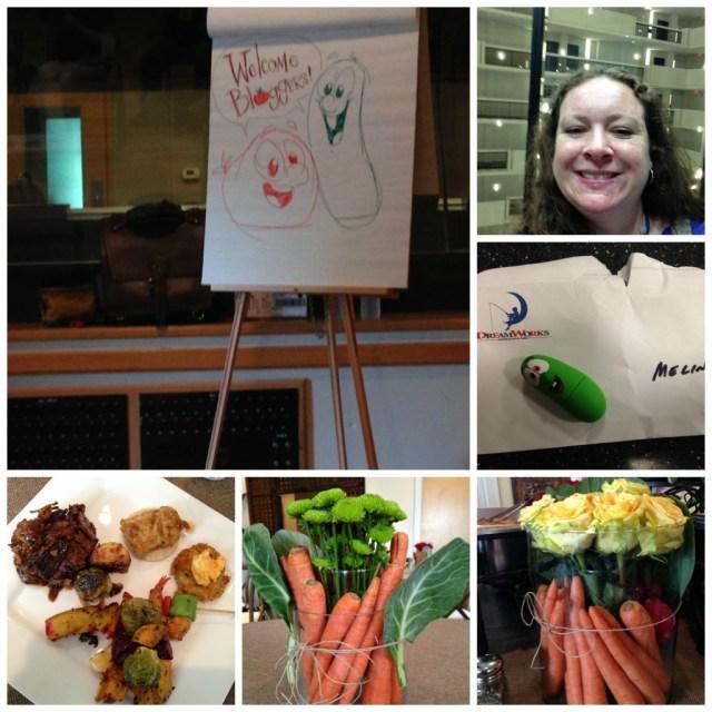 veggietales press day  collage