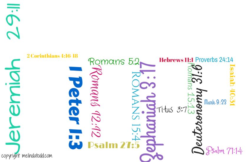 HOPE in bible verses