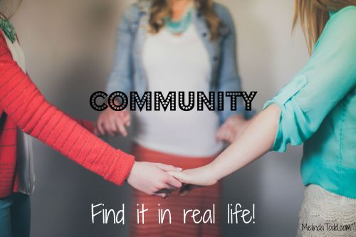 Community Find It In Real Life