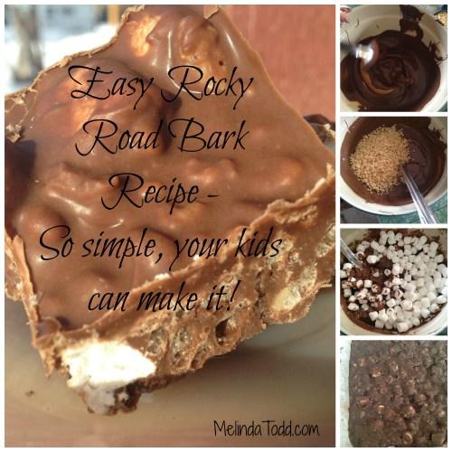 Rocky Road Bark Recipe