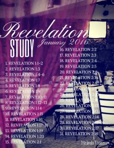 Revelation Study January 2016