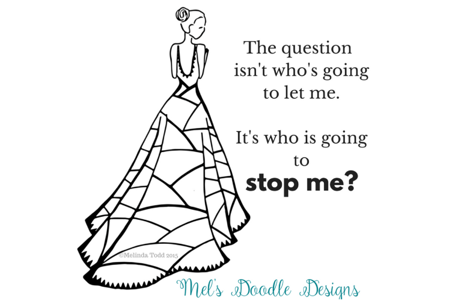 who is going to stop my quote and illustration