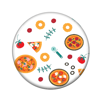 Pizza Magnetic Jewelry