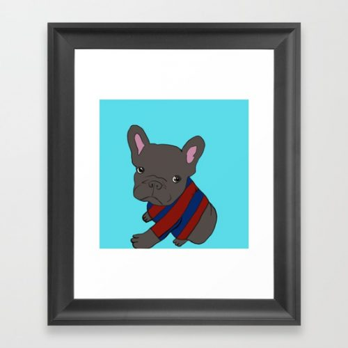 French Bull Dog Puppy Framed Print