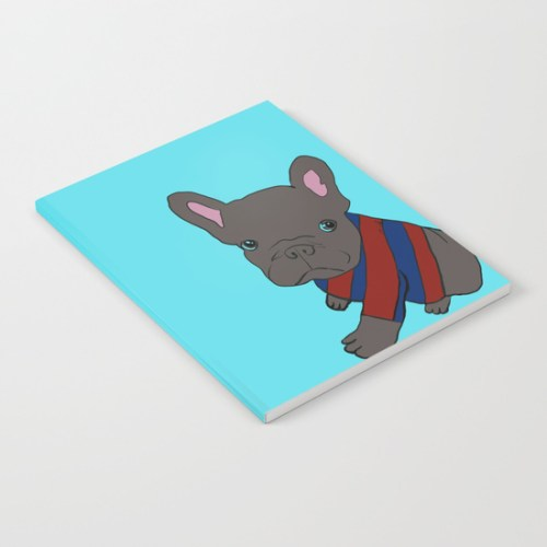 French Bull Dog Puppy Notebook