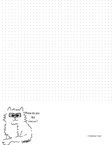 How Do You Like Meow Bullet Journal by Melinda Todd