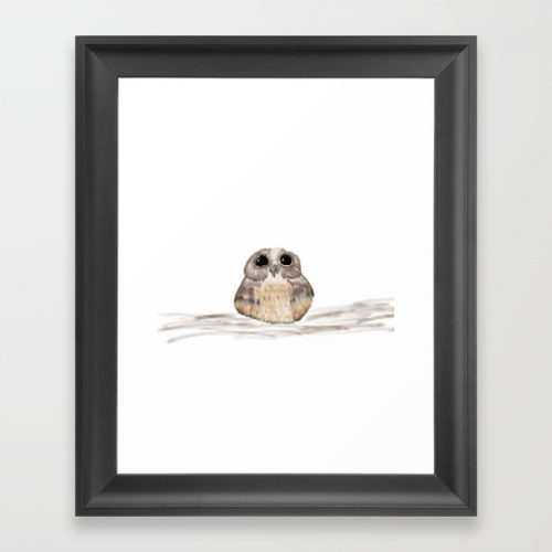 Sweet Owl Framed Print