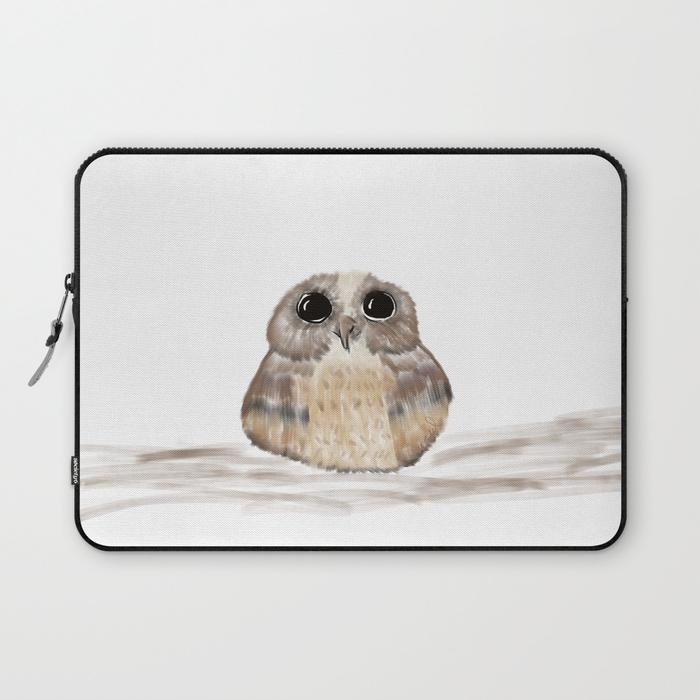 Sweet Owl Laptop Sleeve