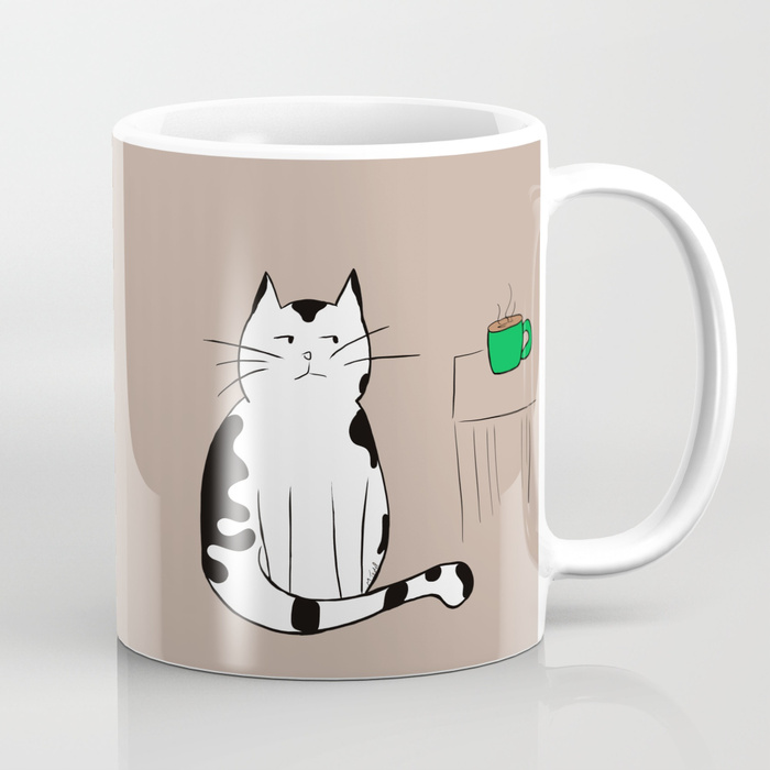 Java The Coffee Cat Coffee Mug