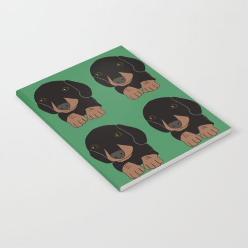 Dachshund Puppies Galore Notebook