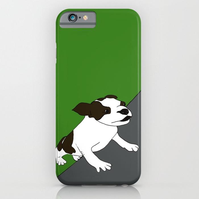 Annie The Boston Terrier iPhone Case