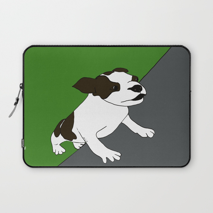 Annie The Boston Terrier Laptop Sleeve