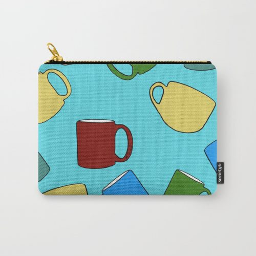 Coffee Mugs Carry All Pouch