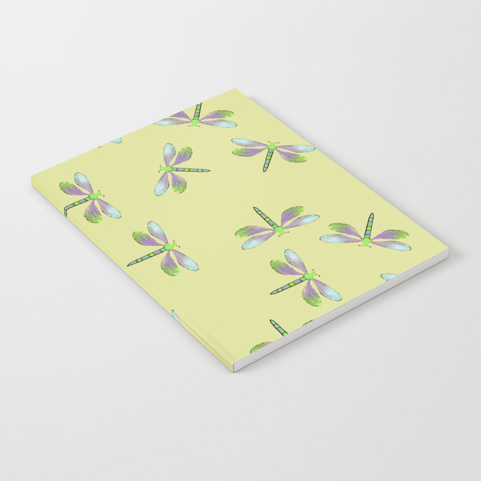 Dragonfly Frenzy Notebook