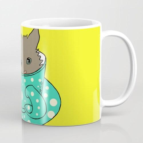Kitten In A Teacup Mug