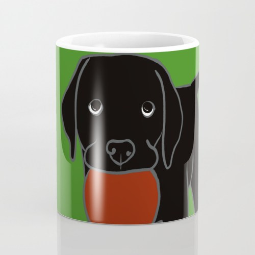 Black Lab Puppy Coffee Mug