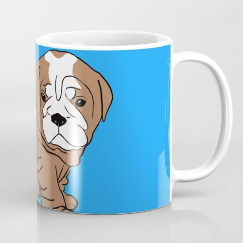 Bulldog Puppy Coffee Mug