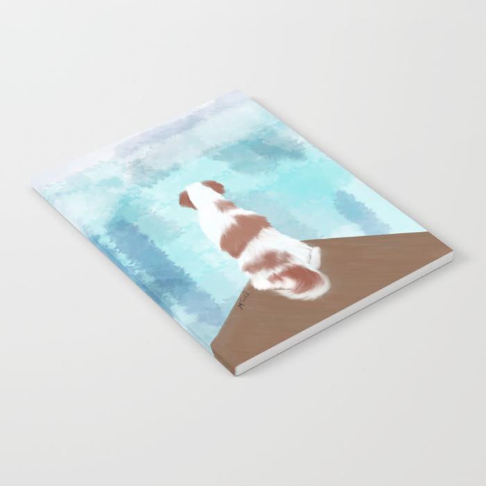 Deschutes The Brittany Spaniel Notebook