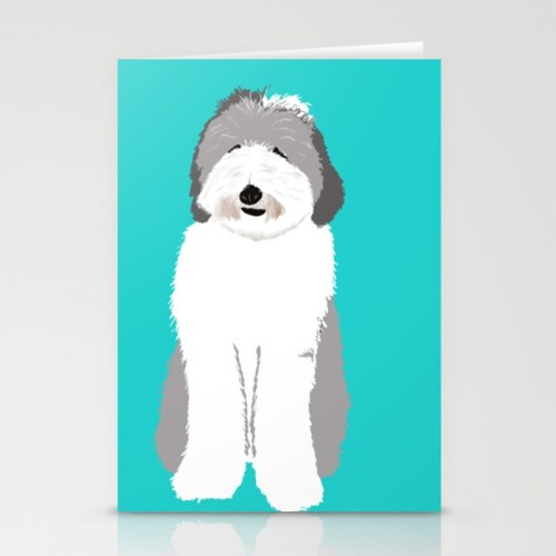 Lucy The Sheepadoodle Greeting Cards