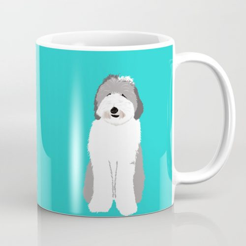 Lucy The Sheepadoodle Coffee Mug