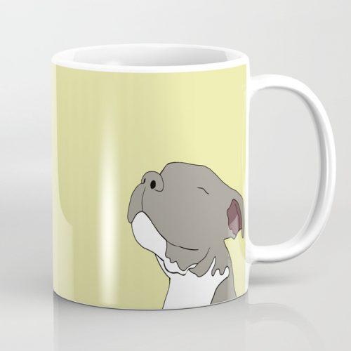 Sunny The Pitbull Puppy Coffee Mug