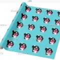 Border Collie Wrapping Paper by Mel's Doodle Designs