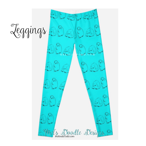 Leggings by Mel's Doodle Designs