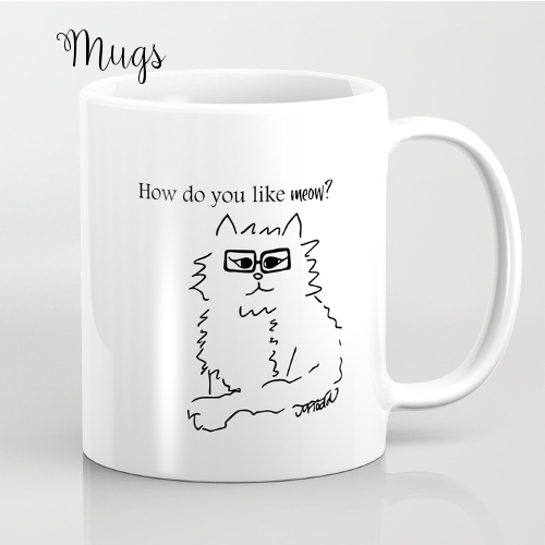 Mugs by Mel's Doodle Designs