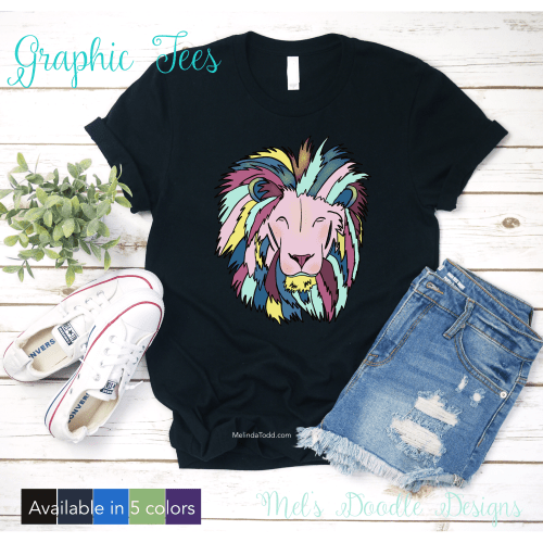 Graphic Tees by Mel's Doodle Designs