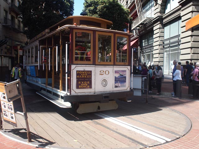 Powell Street Cable Car