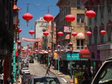 One block of Chinatown