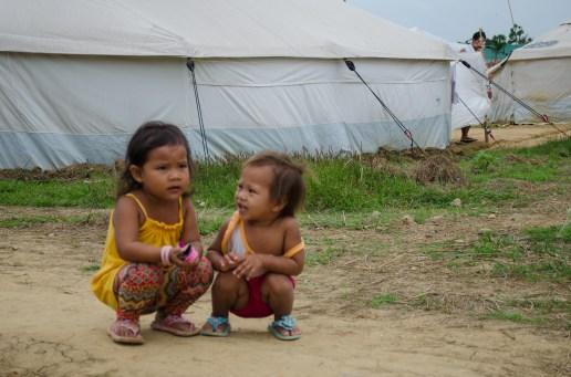 Tent city kids (photo courtesy of Matt Kennedy)